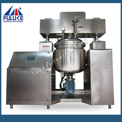 2015 Fully automatic emulsifying mixer for making cream and lotion