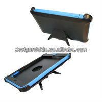 hybrid colors stand case for ipad mini 3 in 1 combo belt clip case