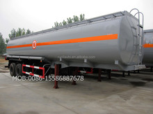 Cost price 30000L FUWA axle fuel tank twin axle trailer
