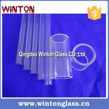Pequeño bellas diámetro vidrio de cuarzo tubo capilar