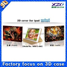 mobile phone accessory 3d image unbreakable protective case for ipad