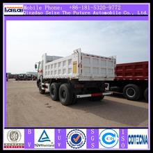 Using mercedes benz tipper truck technology 30T 18CBM North Benz 6x4 tipper dumper truck