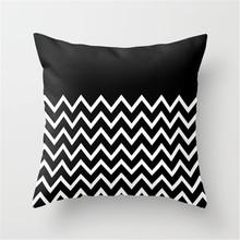 Customize Vector Drawing Burlap Decorative Pillow