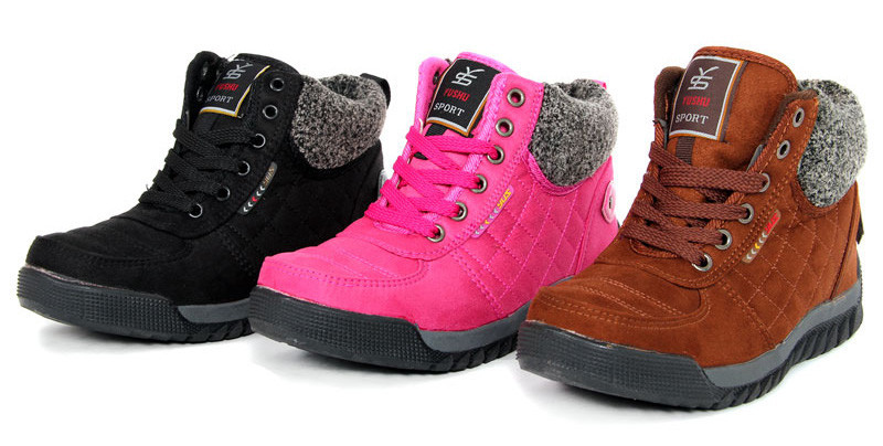 2014 Flat Heel Women Winter Shoes The New 3color Fashion Casual Cute