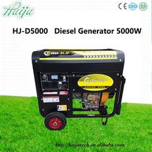 5kw marine diesel generator/diesel electric generator/48 volt dc diesel generator