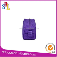 polyester Zippered Cosmetics Pouch & Zippered Cosmetic Pouch & small polyester cosmetic bags