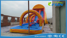 custom slip n slide inflatable / inflatable slip and slide / inflatable slip and slide pool