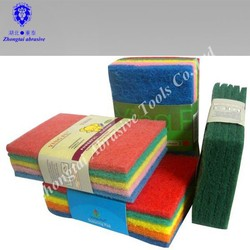abrasive nylon cleaning scouring pad/polishing fiber