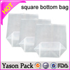 YASON square bottom drawstring handle bagsanta claus plastic square bottom gift bagsquare bottom hdpe drawstring bag