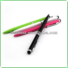 Fashionable Supler Slim stylus pen with ball pen for Iphone Ipad and tablet pc