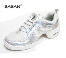 New Arrival Split Sole Line Dance Shoes White Color Dance Shoes 8207