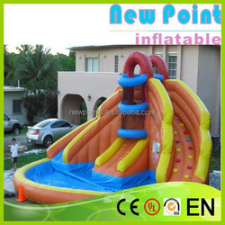 New Point inflatable water slides for summer,custom-made china inflatable water slides,inflatable water slides