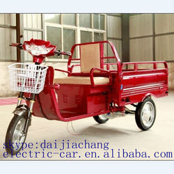 pedal cargo electric fuel tricycle