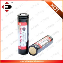New generation EFAN Li-ion 18650 3400MAH 3.7V with flat top high drain battery