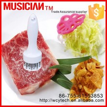 Best stainless steel needle Meat Tenderizer for steaks, pork, lamp and BBQ use