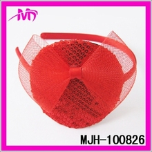 garment l hair accessory flower hair hoop for wedding party MJH-100826