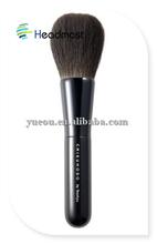 paint brush handle Professional Name Brand 6 pcs Makeup Brush set with Natural Hair with PU Zipper Bag