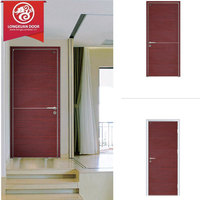China Custom Cheap Entry Swing Single Envirmental-friendly MDF Composite Wooden Doors for Kitchen/Bathing Room Etc.