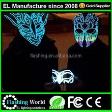 RAVE equalizer MASK,custom el mask for party, cool el panel mask for fun