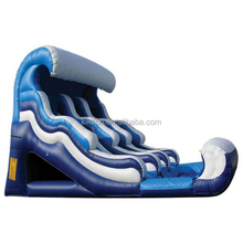 2015 pvc material inflatable slip and slide on sales for kids sports