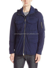 Men's Navy Water Resistant Functional Field Lightweight Leisure Jacket