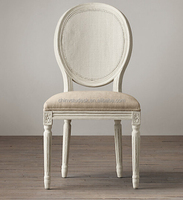 Wood wedding/event chairs French louis xv style chair