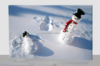 lighted moving pictures,3D picture moving snowman
