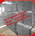 Alta calidad 100 x 100 squar tubo / fabricante 100 x 100 squar tubo / proveedor tubo cuadrado de acero y tubos