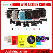 2.0 inch 1080p full hd 1080p waterproof 45 m extreme sj7000 wifi sport action camera