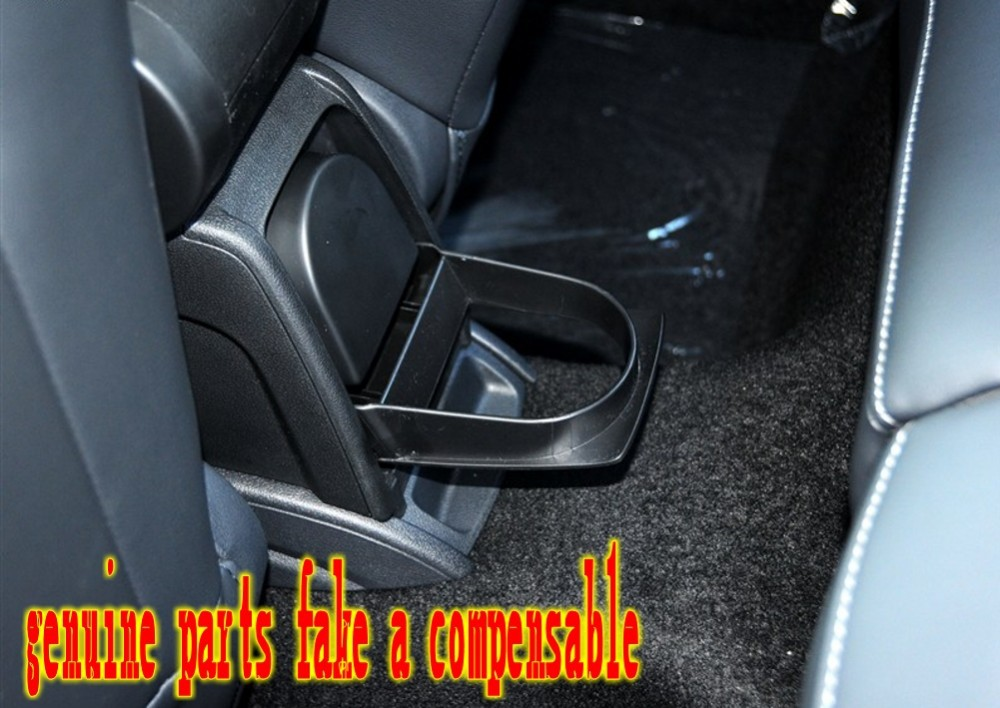 The new Polo CROSS GTI armrest with cup holder Polo boxes bag storage boxes storage console original automotive products2011-16