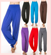VT201 Custom Made Comfortable Loose Lantern Yoga Pants wholesale