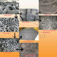 Used Tire Recycling plant for rubber powder making