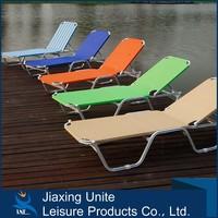 outdoor pool garden stacking sunbeds/sun bed /Aluminium sun lounger