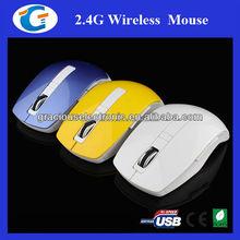 Arc shape 6d optical genius mouse wireless with mini usb