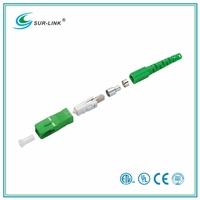 SC/APC Type Single Mode Simplex Fiber Optic Connector