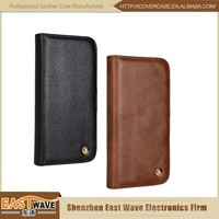 New Trendy Fashion Leather Wallet Case Cell Phone Case For Apple iPhone 5 5s