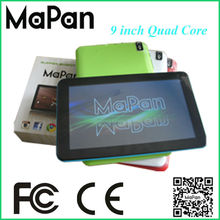 OEM android tablet touch screen with long time fun hours/android 4.4 os tablet