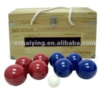 2012 Newest design poly resin bocce ball