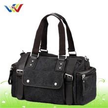 Custom Canvas Tote Travel Bag With Many Pocket