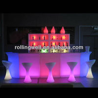 LED bar/ktv/hotel/ garden glowing modern counter bakery counter retail store checkout counter