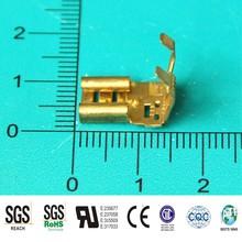 high performance auto electrical brass FLAG crimp terminal, car battery terminal, metal stamping terminals