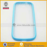 For samsung i9300 galaxy s3 transparent cellphone case
