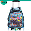 cattoon printing Primary school bags with wheels for student made in china
