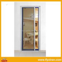 Folding screen door/sliding screen door rollers/retractable screen door
