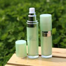 de plástico elegante acrílico airless spray 4 contenedores oz botella cosmética