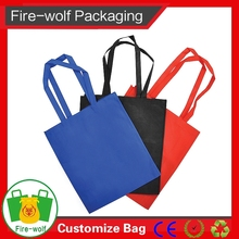 Customized Logo Promotional Cute Design Recyclable Non Woven Shopping Bag Price