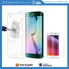 2015 New Products Perfect Size Full Coverage 3D 0.2MM Tempered Glass For Samsung S6 EDGE