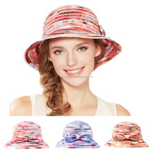 Fashion design colorful custom plain bucket cap
