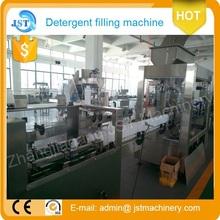 BIG capacity PET bottle liquid detergent filling and sealing packing machine