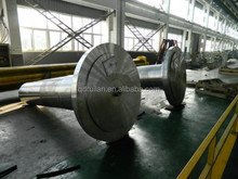 34CrNiMo6 Heavy Steel Forgings Wind Power Main Spindle For Wind Power Capacity 2.0Mw